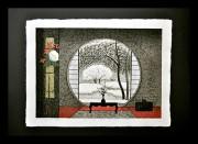 OHTSU KAZUYUKI:  Garden in Snow