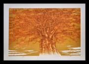 NAMIKI HAJIME:  Tree Scene 95A
