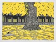 OHTSU KAZUYUKI: Autumn of Ginkgo