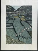 Morimura Ray: Rice Field with Toki