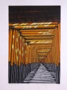 MORIMURA RAY: The Light Shines on Fushimi Torii