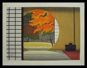OHTSU KAZUYUKI: Autumn Colours in Meigetsu-In