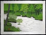 OHTSU KAZUYUKI: Mountain Stream, Oirase