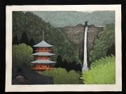 OHTSU KAZUYUKI: Nachi Falls-Seingantoji